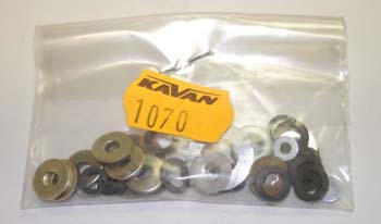1070 - Washers, assorted